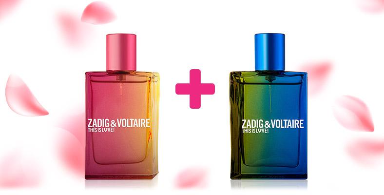 Zadig & Voltaire This is Love Ароматна двойка за него и нея