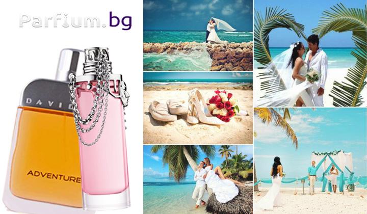 Мъжки и дамски парфюми за лятна сватба