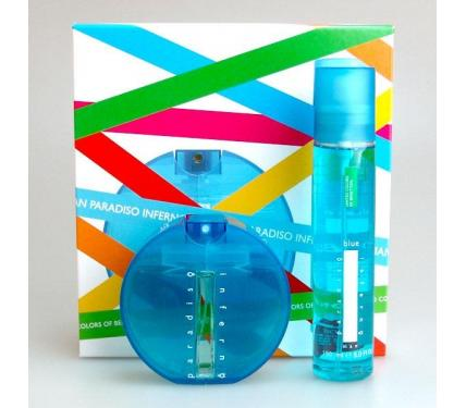 Benetton Paradiso Inferno Blue 100 ml EDT 100 ml Deo Spray