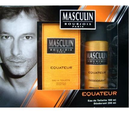Bourjois Equateur Мъжки подаръчен комплект