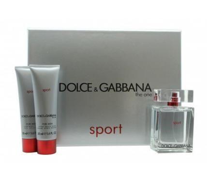 Dolce & Gabbana The One Sport подаръчен комплект за мъже