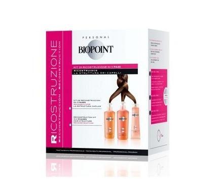 Biopoint Възстановяващ комплект за коса в 3 фази
