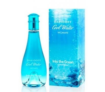 Davidoff Cool Water Into The Ocean парфюм за жени EDT