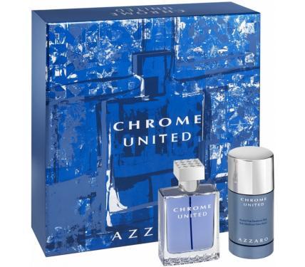Azzaro Chrome United Подаръчен комплект за мъже