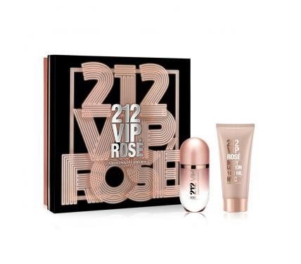 Carolina Herrera 212 Vip Rose подаръчен комплект за жени