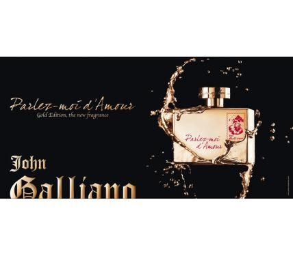 John Galliano Parlez Moi d`Amour Gold Edition парфюм за жени без опаковка EDT