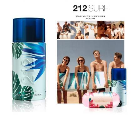 Carolina Herrera 212 Surf парфюм за мъже без опаковка EDT