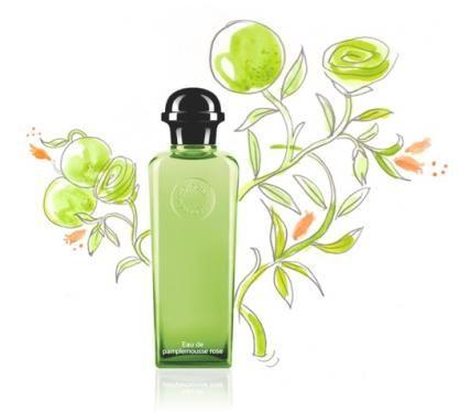 Hermes Eau de Pamplemousse Rose Унисекс парфюм без опаковка EDC