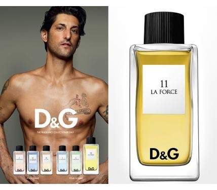 Dolce & Gabbana Anthology 11 La Force  парфюм  за мъже без опаковка EDT