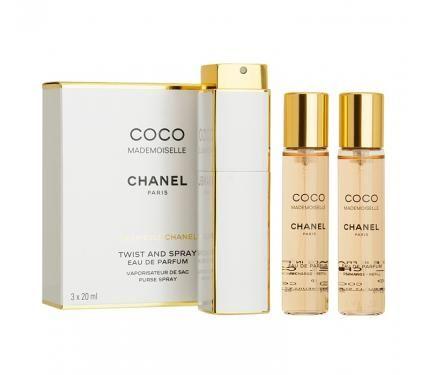 Chanel Coco Mademoiselle парфюм за жени 3x20ml EDP