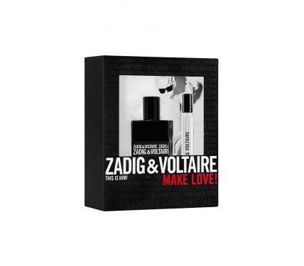 Zadig & Voltaire This is Him подаръчен комплект за мъже