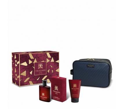 Trussardi Uomo Red подаръчен комплект за мъже