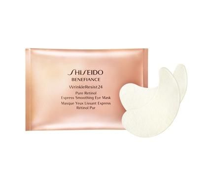 Shiseido Benefiance WrinkleResist24 Pure Retinol Express Smoothing Eye Mask Маска за очи с ретинол