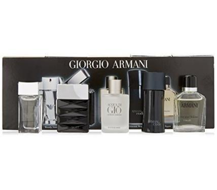 Giorgio Armani Комплект мини парфюми за мъже