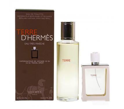 Hermes Terre d`Hermes Eau Tres Fraiche Подаръчен комплект за мъже