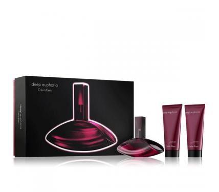 Calvin Klein Deep Euphoria подаръчен комплект за жени