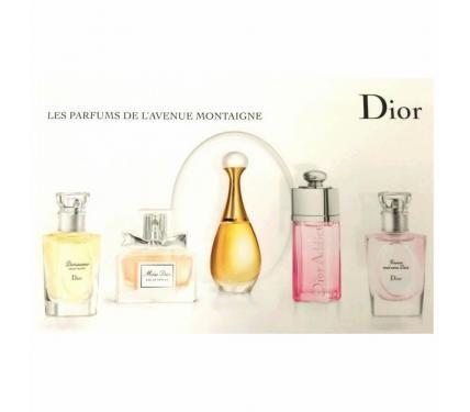 Christian Dior Les Parfums de L`avenue Montaigne комплект мини парфюми за жени