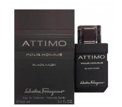 Salvatore Ferragamo Attimo Black Musk Pour Homme парфюм за мъже EDT
