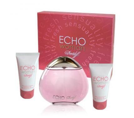 Davidoff Echo подаръчен комплект за жени