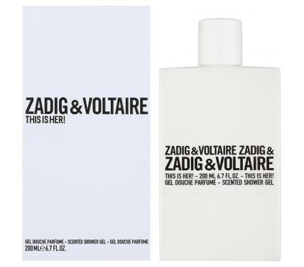 Zadig & Voltaire This is Her душ гел за жени