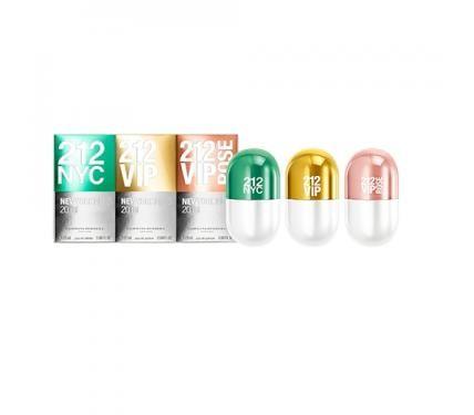 Carolina Herrera 212 комплект за жени мини парфюми