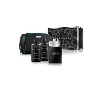 Bvlgari Man Black Cologne подаръчен комплект за мъже