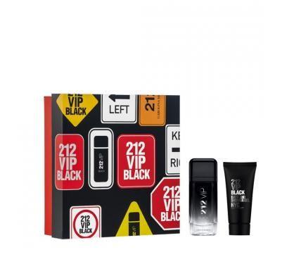 Carolina Herrera 212 Vip Black Подаръчен комплект за мъже