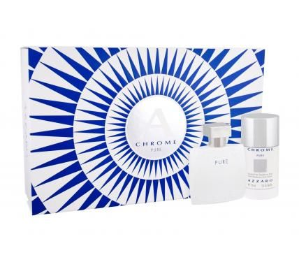 Azzaro Chrome Pure Подаръчен комплект за мъже