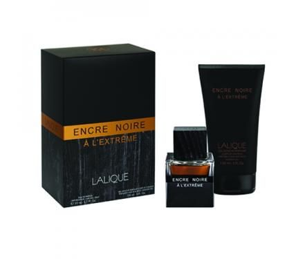 Lalique Encre Noir A L`Extreme Подаръчен комплект за мъже