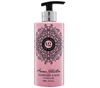 Vivian Gray Aroma Selection Raspberry & Rose 2060 Течен сапун за ръце