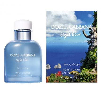 Dolce & Gabbana Light Blue Beauty of Capri парфюм за мъже EDT