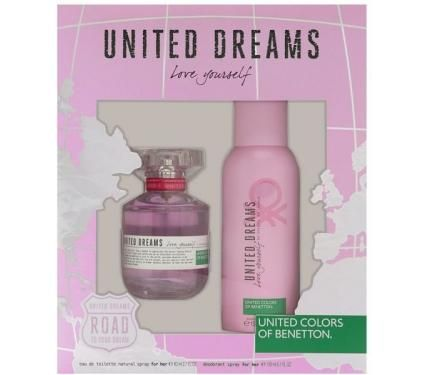 Benetton United Dreams Love Yourself Подаръчен комплект за жени
