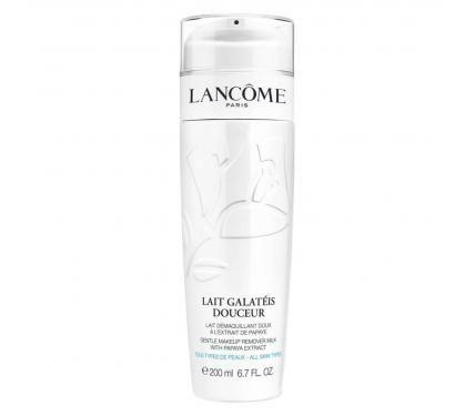 Lancome Lait Douceur Galateis Омекотяващ почистващ флуид за лице и очи без опаковка