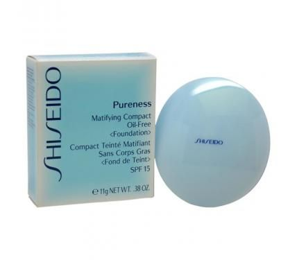 Shiseido Pureness Matifying Compact Oil Free Foundation SPF15 Компактна матираща пудра със слънцезащитен фактор