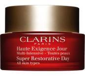 Clarins Super Restorative Day All Skin Types Дълбоко подхранващ дневен крем без опаковка