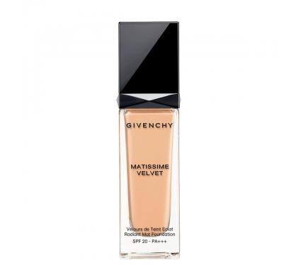 Givenchy Matissime Velvet SPF 20 Mat Fluide 03 Mat Sand Матиращ фон дьо тен със слънцезащитен фактор