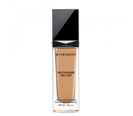 Givenchy Matissime Velvet SPF 20 Mat Fluide 05 Mat Honey Матиращ фон дьо тен със слънцезащитен фактор