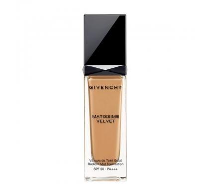 Givenchy Matissime Velvet SPF 20 Mat Fluide 07 Mat Ginger Матиращ фон дьо тен със слънцезащитен фактор