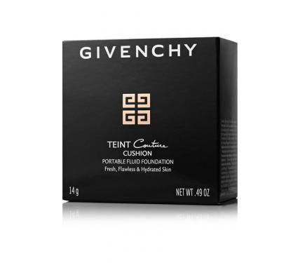 Givenchy Teint Couture Cushion N2 Fresh Shell SPF 10 Компактен фон дьо тен със слънцезащитен фактор