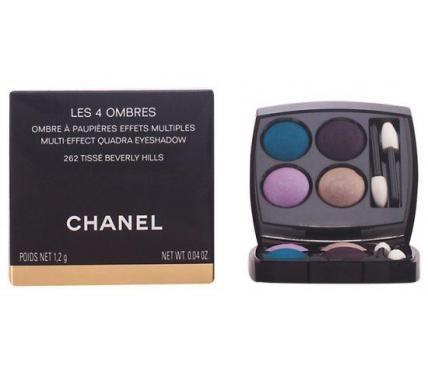 Chanel Les 4 Ombres Multi-Effect Quadra Eyeshadow 262 Палитра от сенки за очи с четири нюанса