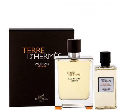 Hermes Terre d`Hermes Eau Intense Vetiver Подаръчен комплект за мъже