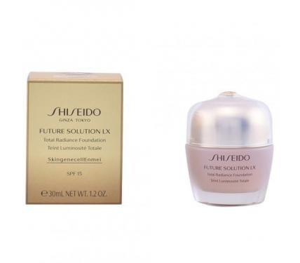 Shiseido Future Solution LX Total Radiance Foundation R3 Rose Фон дьо тен против поява на признаци на стареене със слънцезащитен фактор SPF 20
