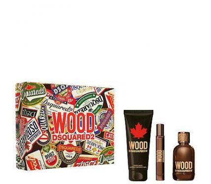 Dsquared Wood For Him Подаръчен комплект за мъже