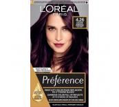 L'Oréal  PREFERENCE 4.26 Pure Burgundy