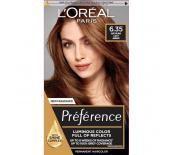 L'Oréal  PREFERENCE 6,35 REC AMBRE CLAIR