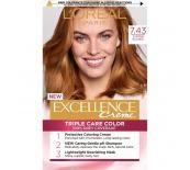 L'Oréal  EXCELLENCE 7.43 COPPER BLONDE