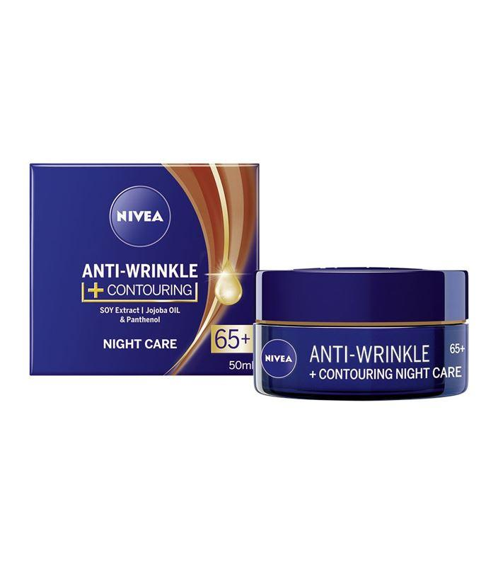 NIVEA AntiWrinkle+ Контуриращ нощен крем против бръчки 65..