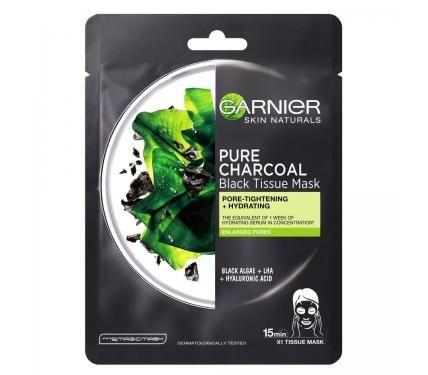 Garnier  SKIN NAT Памучна маска за мазна кожа