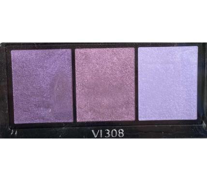 Shiseido Luminizing Satin Eye Color Trio VI308 Сенки за очи без опаковка