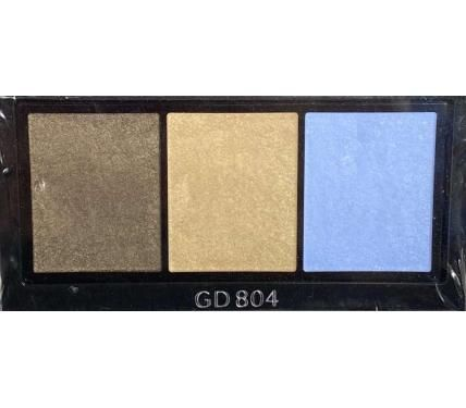 Shiseido Luminizing Satin Eye Color Trio GD804 Сенки за очи без опаковка
